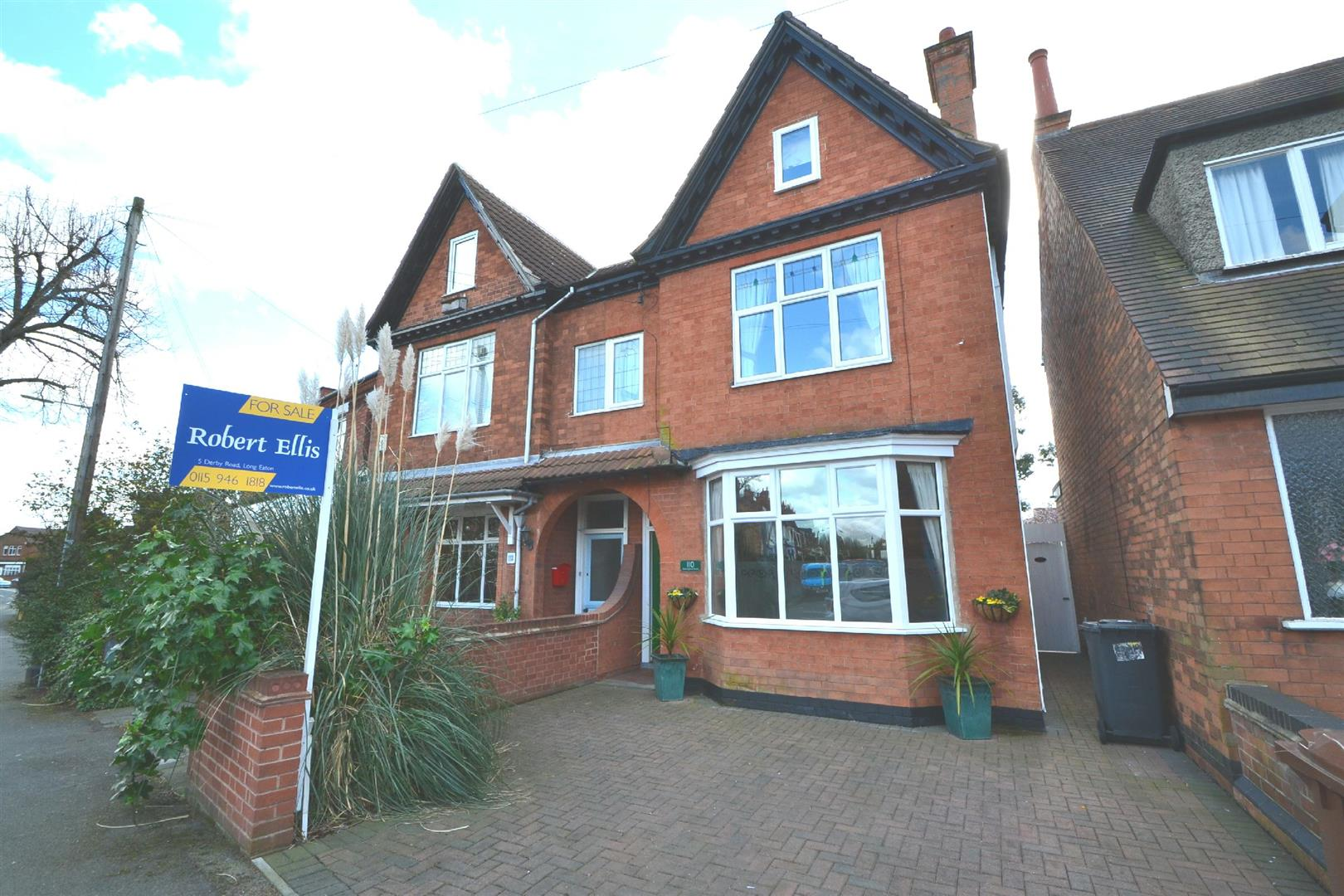 4 Bedrooms Semi Detached House for sale in Nottingham Road, Long Eaton